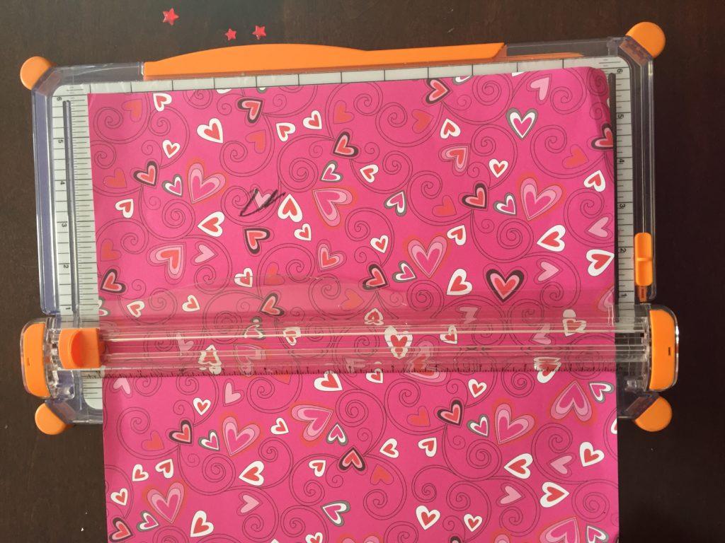 DIY Valentine Heart Banner