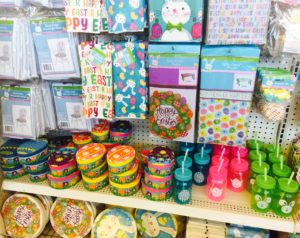 Dollar Tree Easter Baskets - Glitter On A Dime