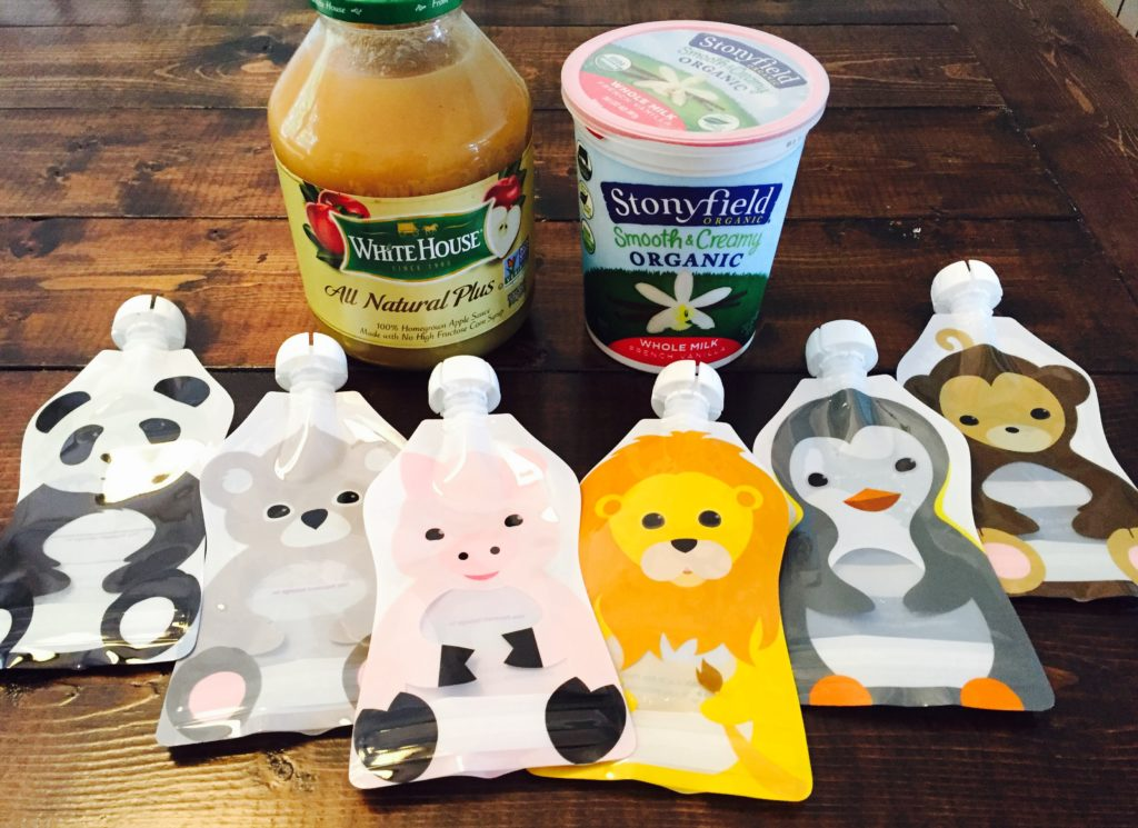 DIY Yogurt Pouches for Toddlers and Preschoolers