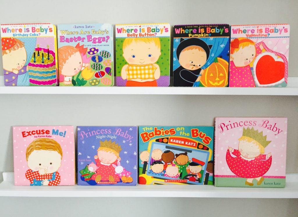 Karen Katz Board Books for Toddlers