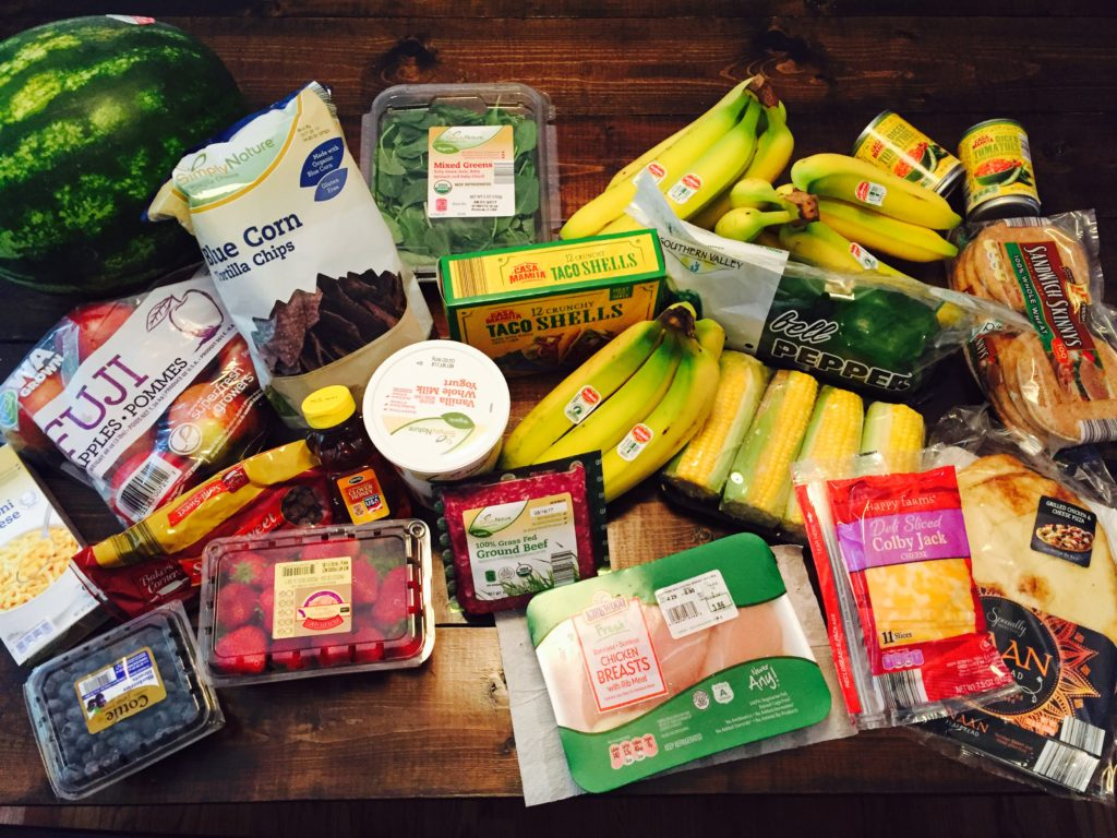 Aldi Grocery Haul and Meal Plan
