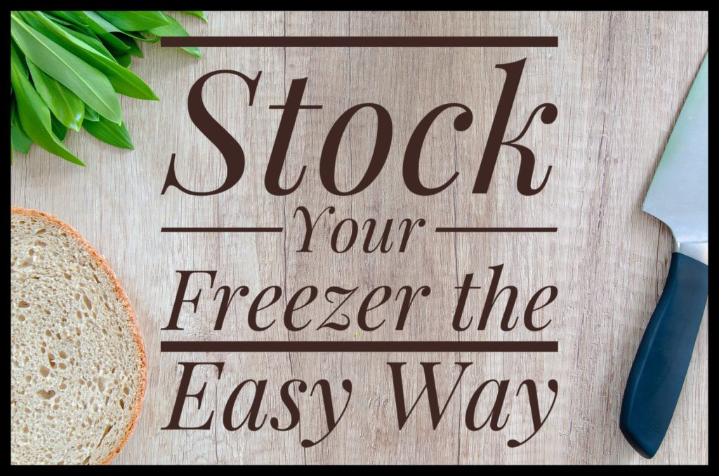 Stock your freezer the easy way by using freezable leftovers.