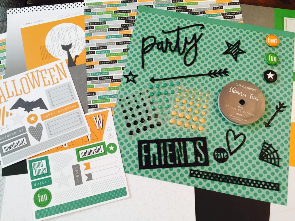 Scrapbooking Made Easy with CTMH Workshop on Go Kits
