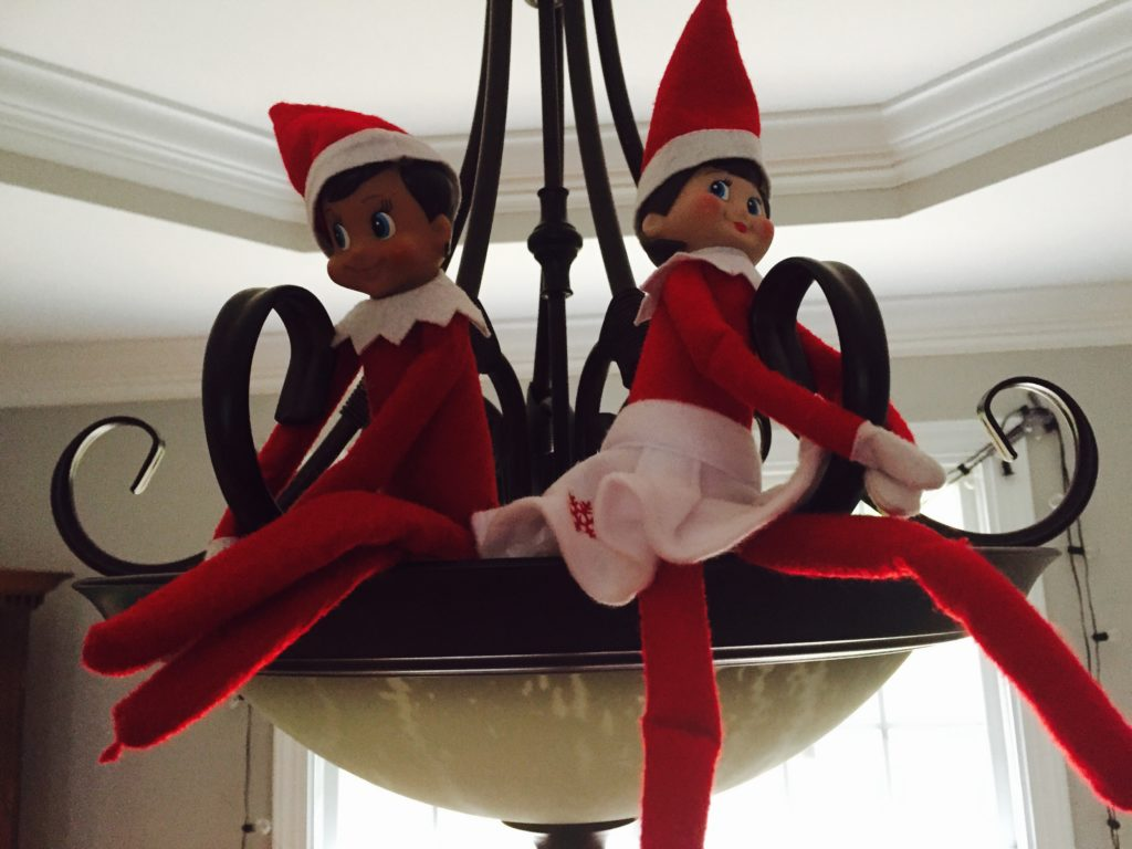 Elf on the Shelf comes back