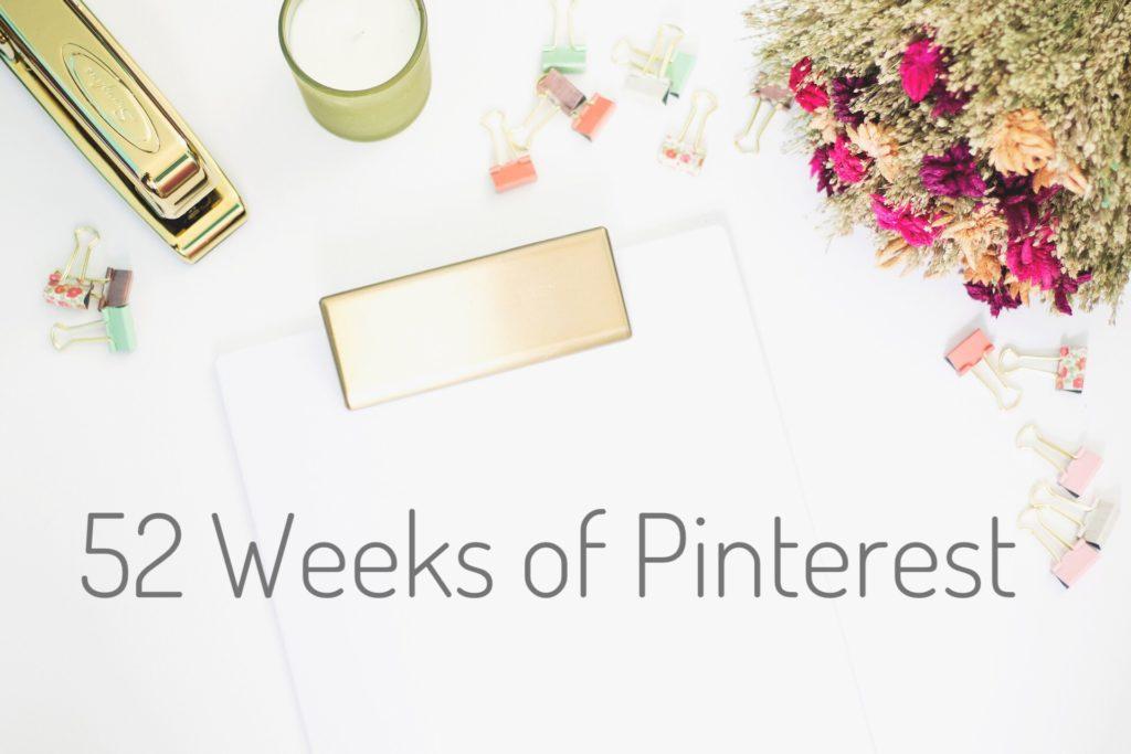 2018 Pinterest Challenge
