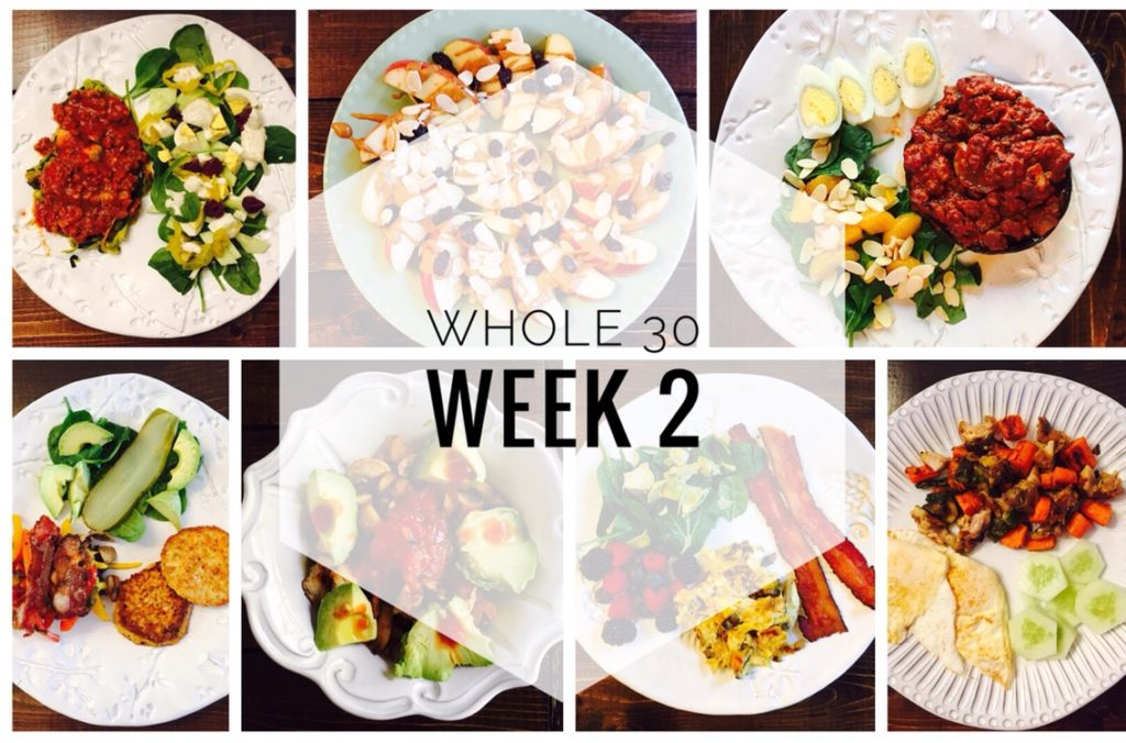 Whole 30 Week 2 Recap
