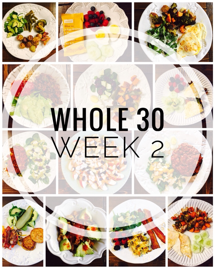 Whole 30 Week 2 Meals, Tips and Favorite Products