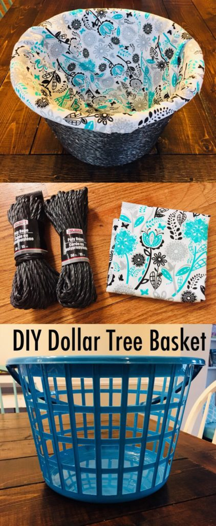 DIY Dollar Tree Basket