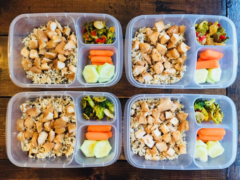Teriyaki Chicken Lunch Prep