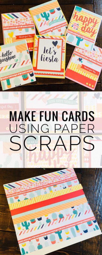 Make Fun Cards Using Paper Scraps