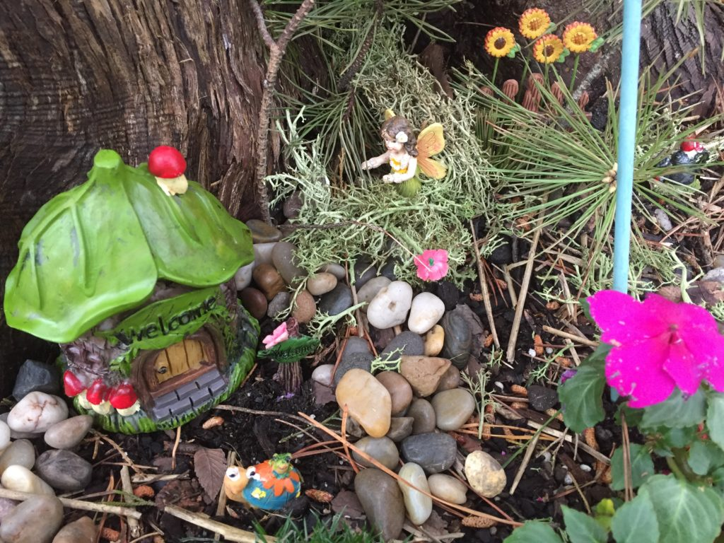 Fairy Garden on a Budget from Dollar Tree