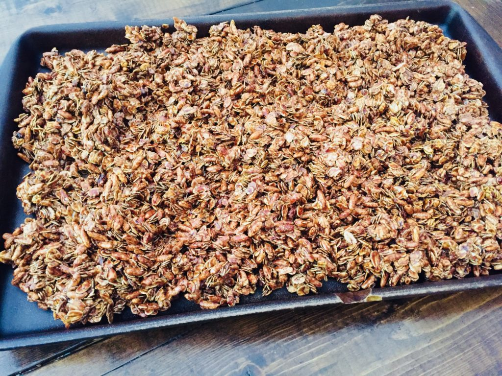 chocolate granola recipe for busy moms
