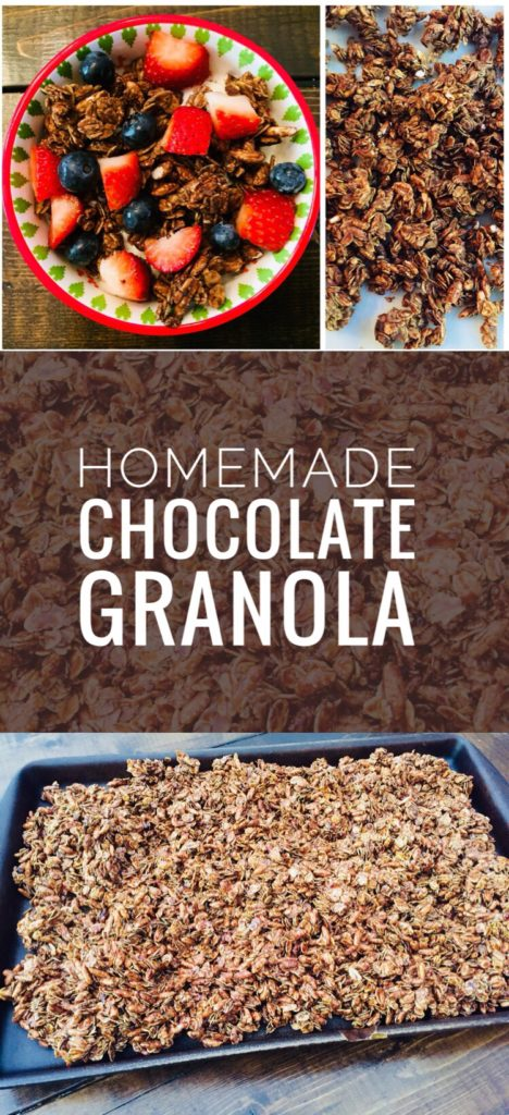 Homemade Chocolate Granola Recipe for Busy Moms