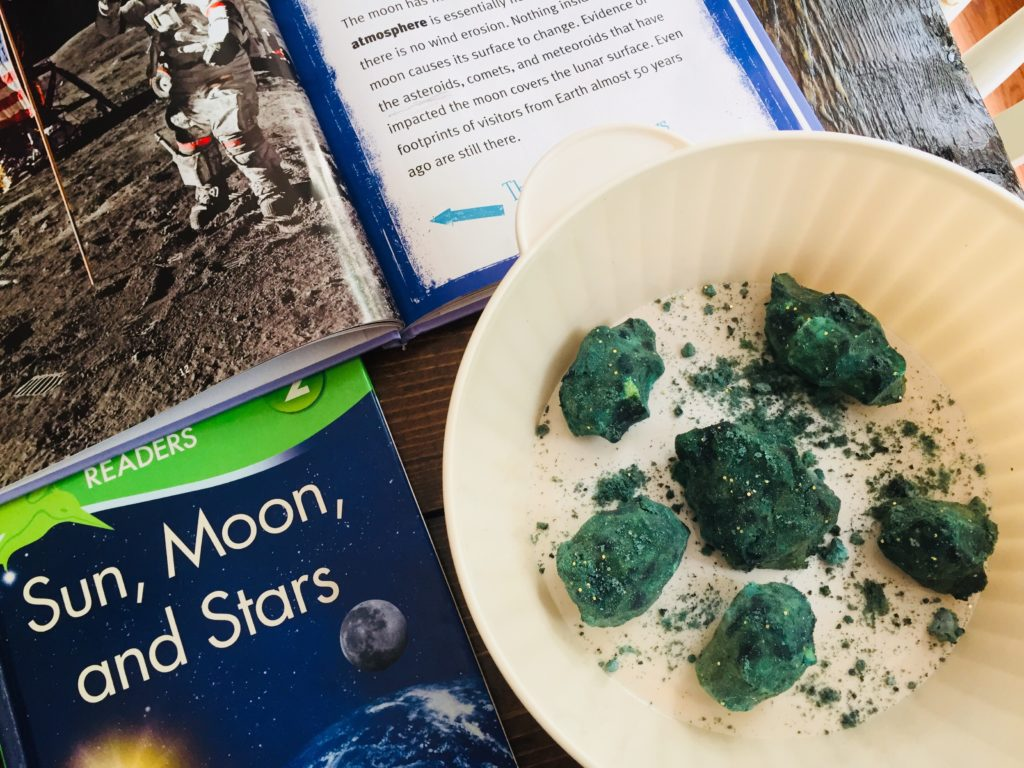 Moon Rock Science Experiment with Kids