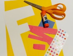 F is for Flags Craft