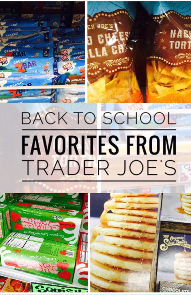 Awesome products from Trader Joe's for Back to School!