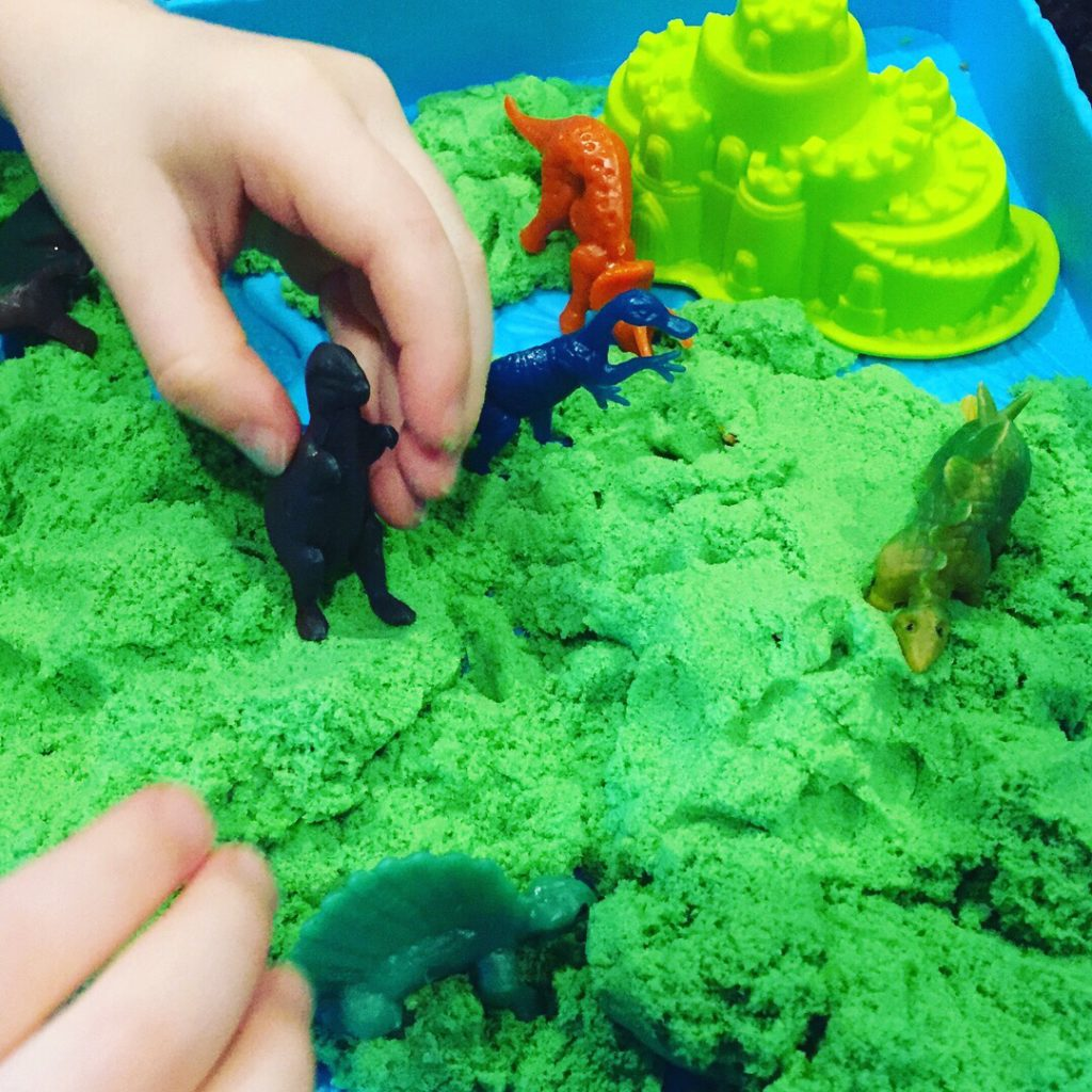 Dinosaur Kinetic Sand