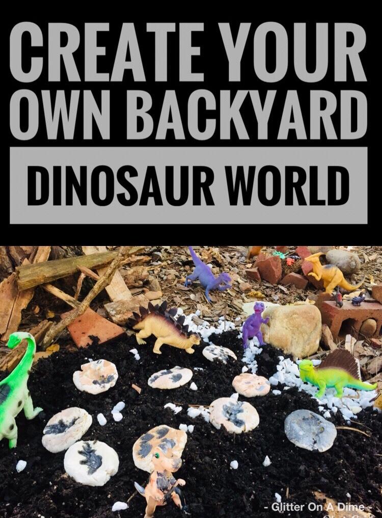 Create Your Own Backyard Dinosaur World Garden