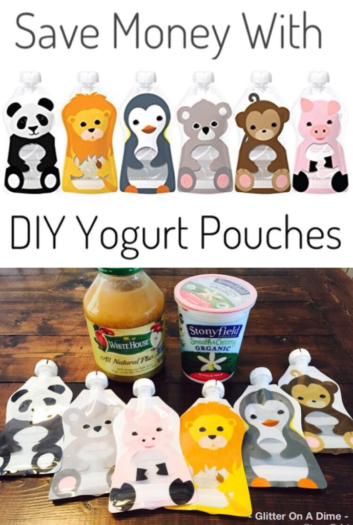 Save Money with DIY Yogurt and Applesauce Pouches!