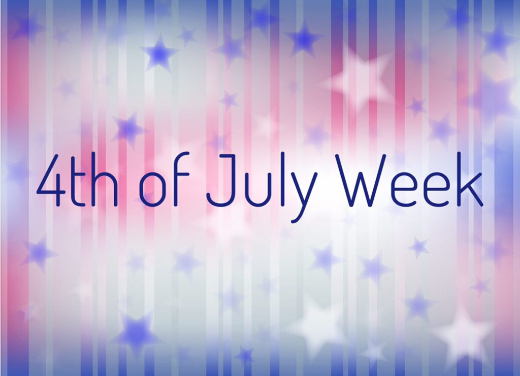 4th of July week includes lots of fun patriotic crafts, snacks and activities