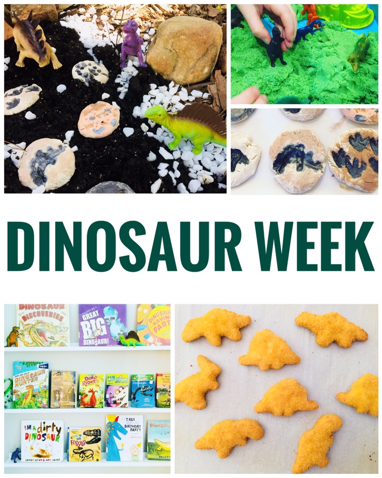Simple and Fun Crafts & Activities for a week of Dinosaur Fun