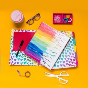 AmyTangerine binders perfect for back to school! These would brighten anyone's day!