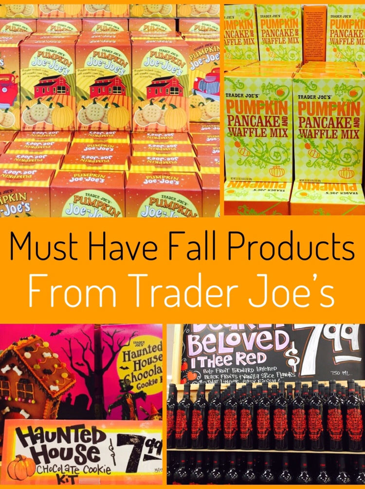Trader Joe's has the best products for fall! So many amazing mixes and pumpkin items to choose from