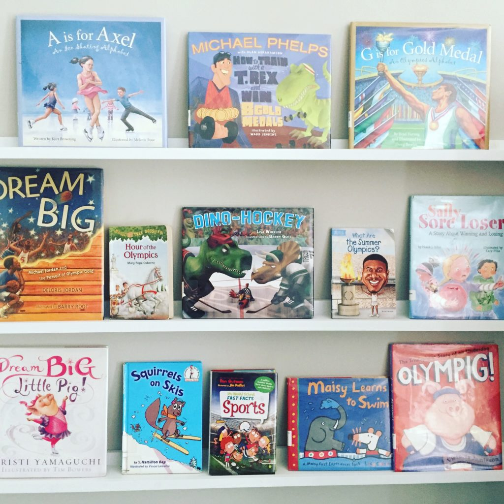 Books for Olympics Week