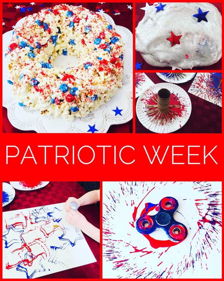 Fun and easy Patriotic Crafts and Activities!