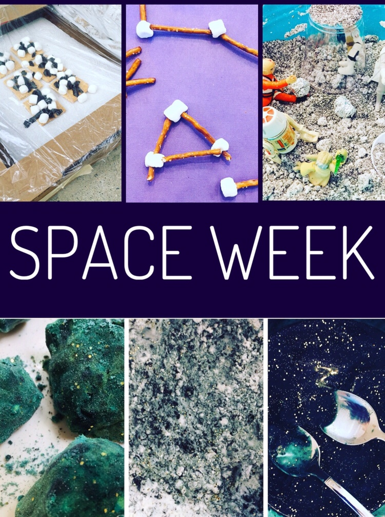 Space Week Crafts and Activities