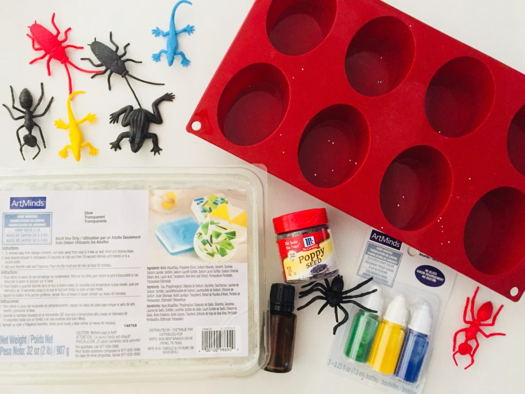 DIY Homemade Bug Soap for Kids