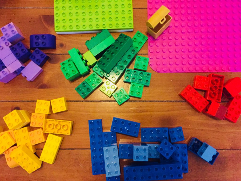 Color Sorting with Lego Duplo