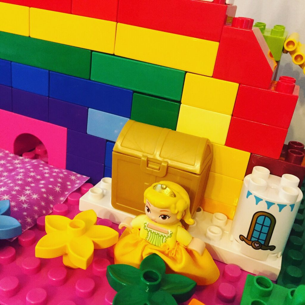 Princess Amber Lego Castle