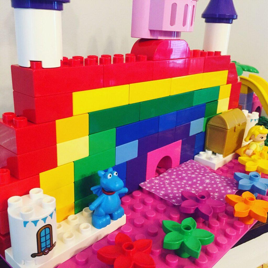 Lego Duplo Rainbow Castle