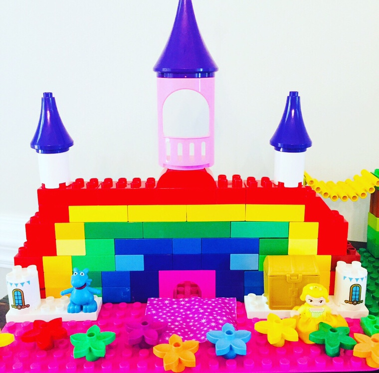 Lego Duplo Princess Rainbow Castle