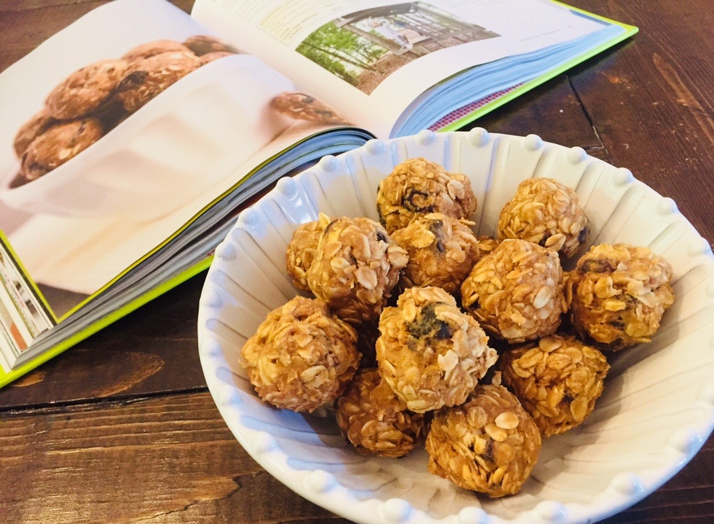 Oatmeal Cookie Energy Bites from 100 Days of Real Food On a Budget