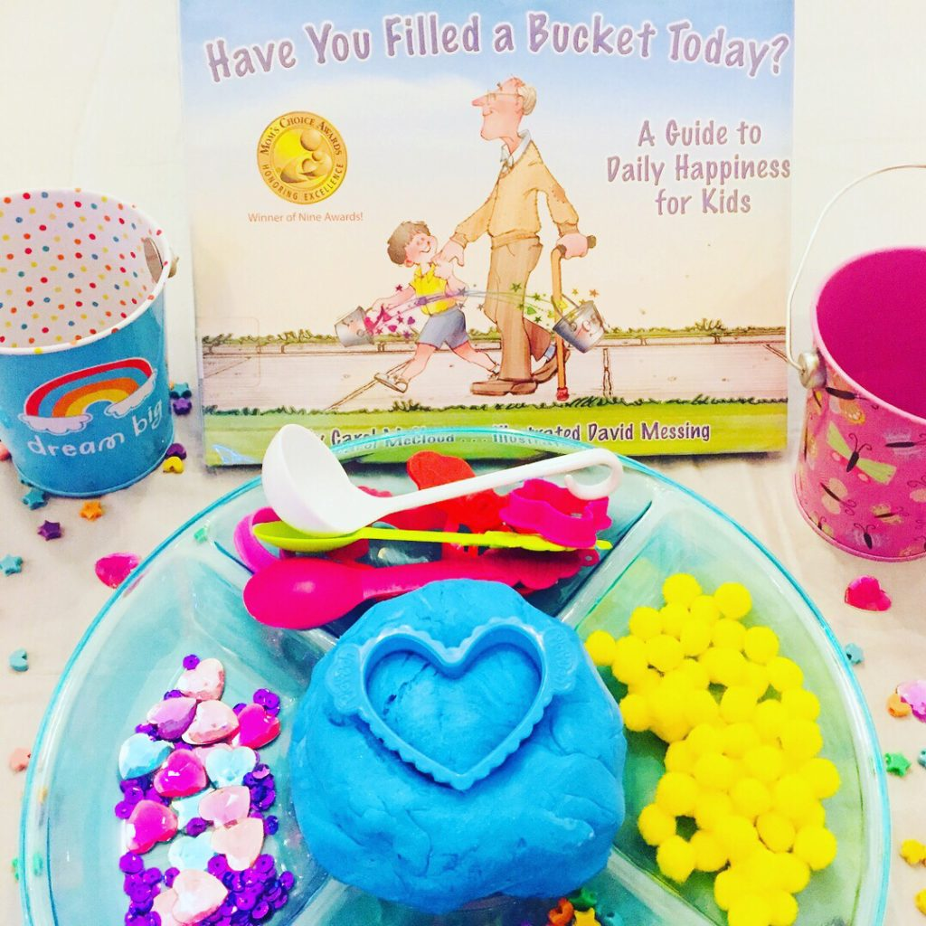 Book Activity Craft based on Have You Filled A Bucket Today