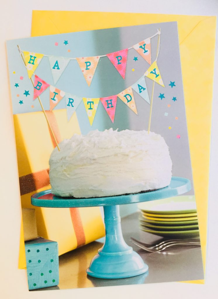 Hallmark Birthday Card from Dollar Tree