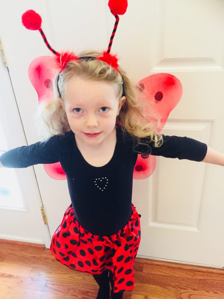 Ladybug Costume from Dollar Tree