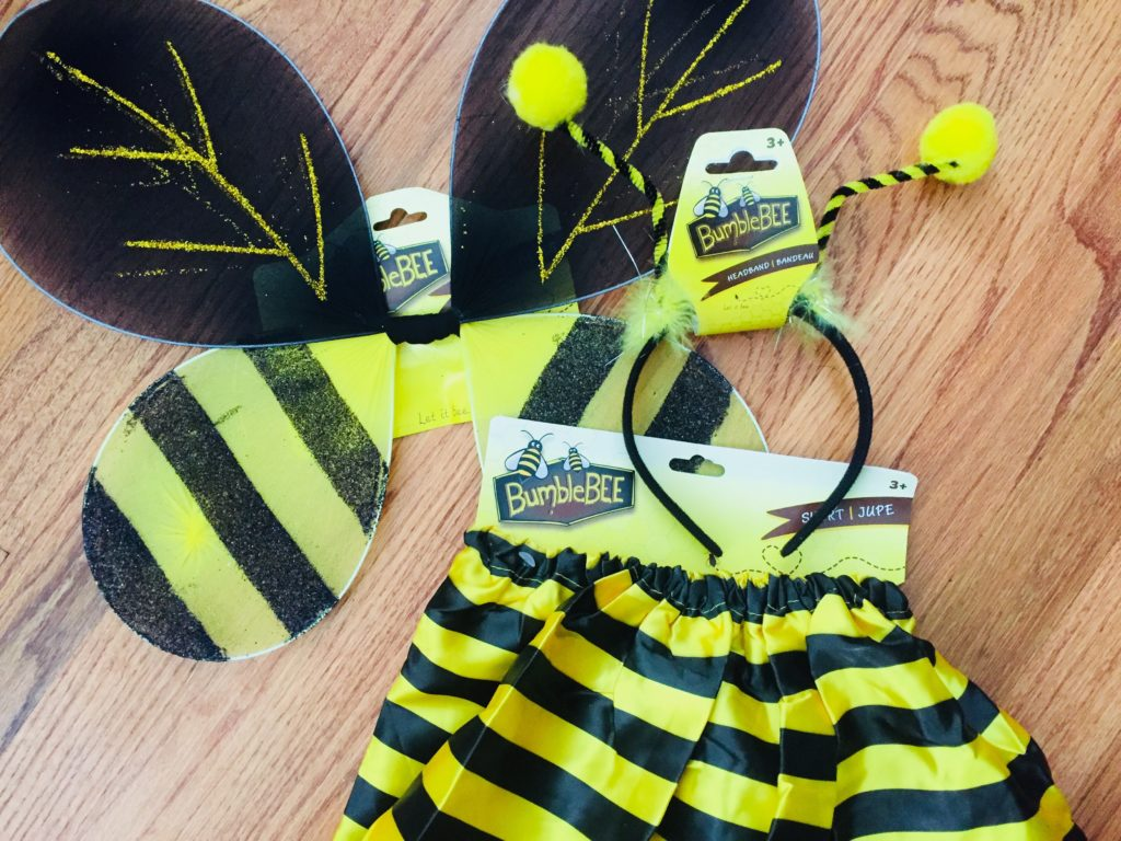 Bumble Bee Costume for Girls
