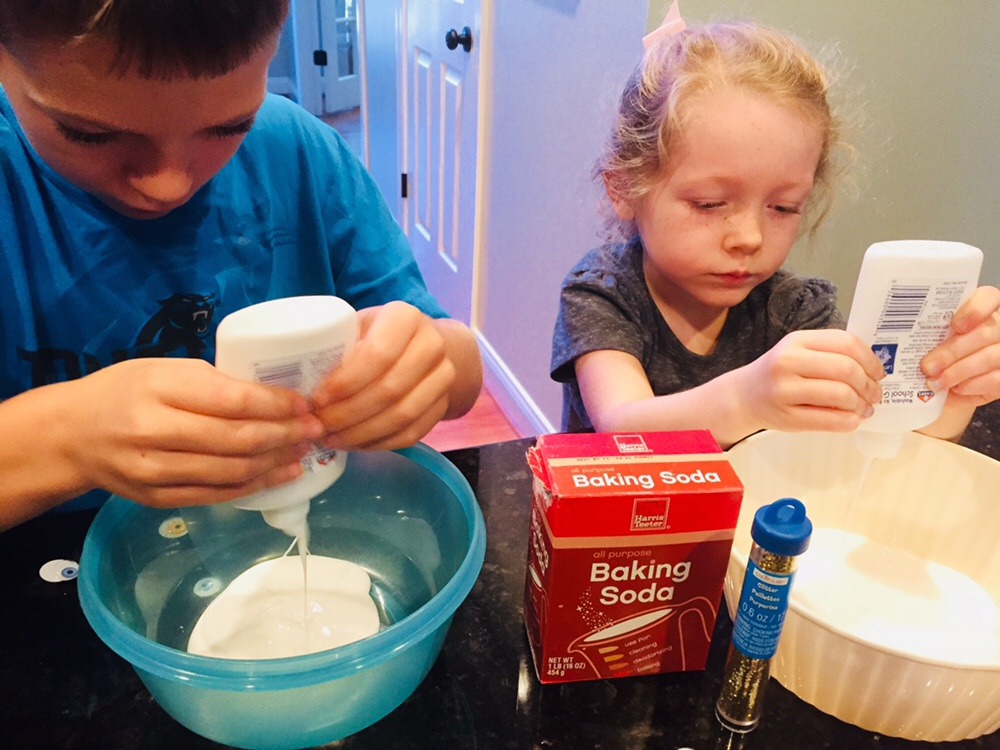 Kids Making Slime
