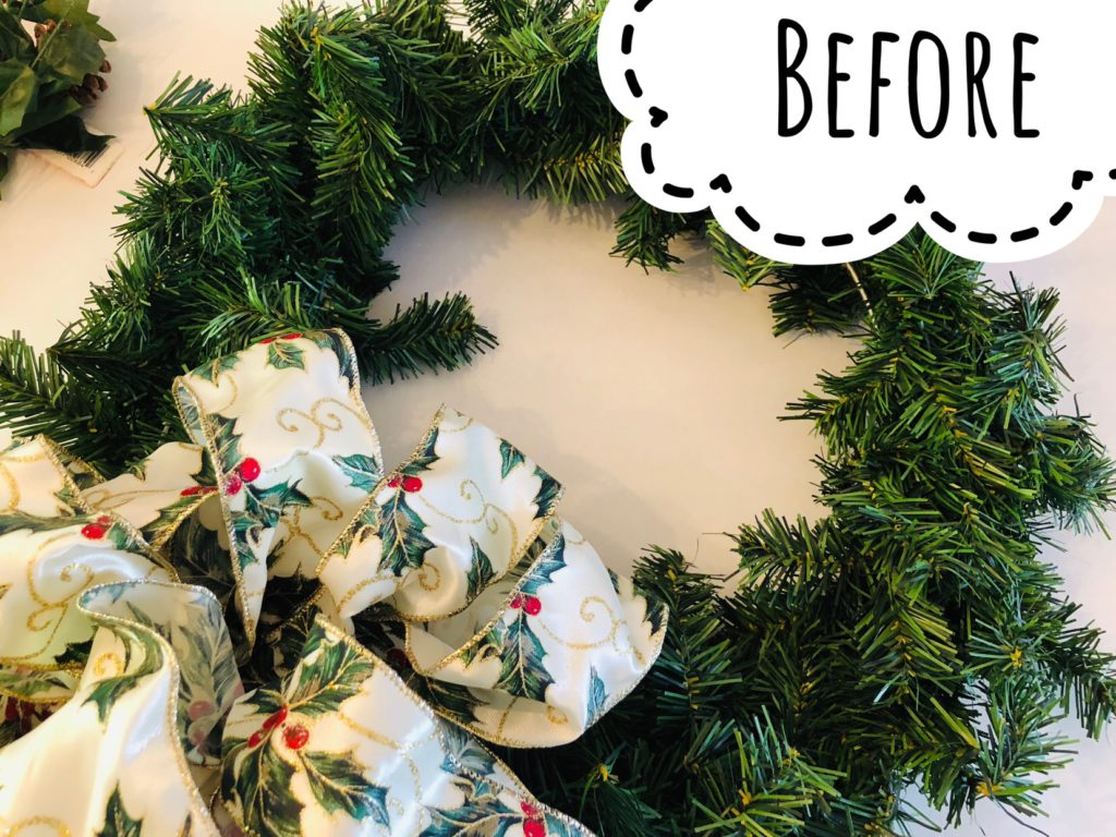 Wreath Makeover