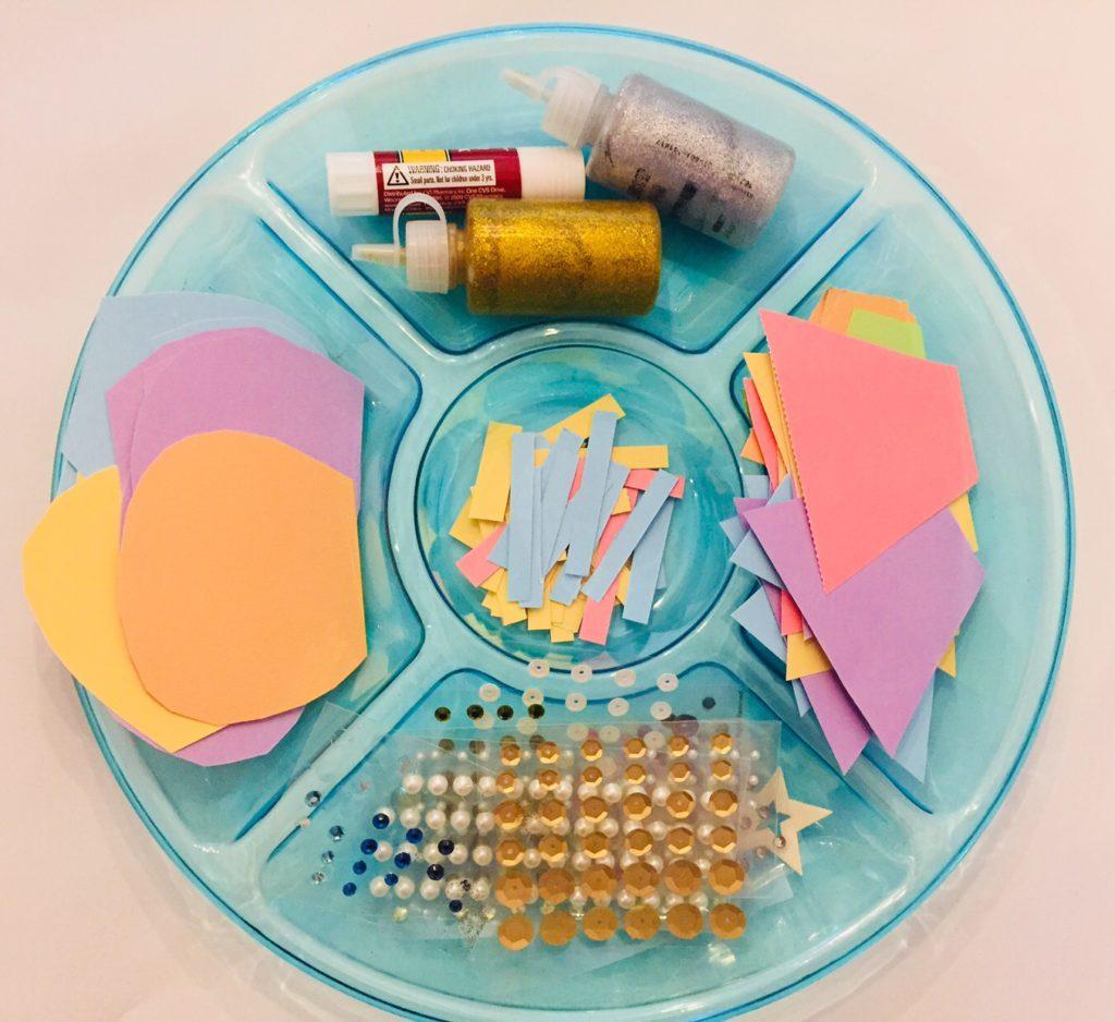 Cupcake Card Play date Craft