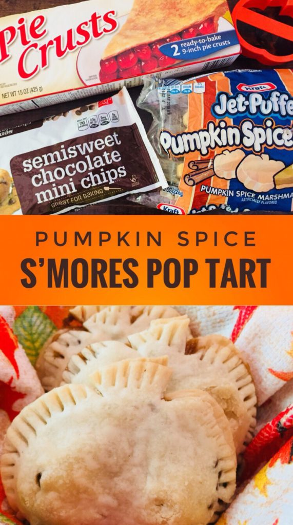 Pumpkin Spice S'mores Tarts - Easy and fun recipe for fall!