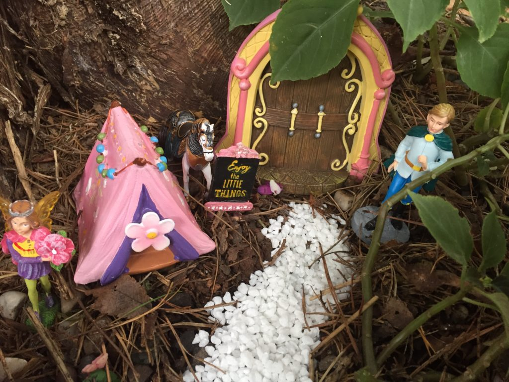 Create Your Own Princess Fairy Garden