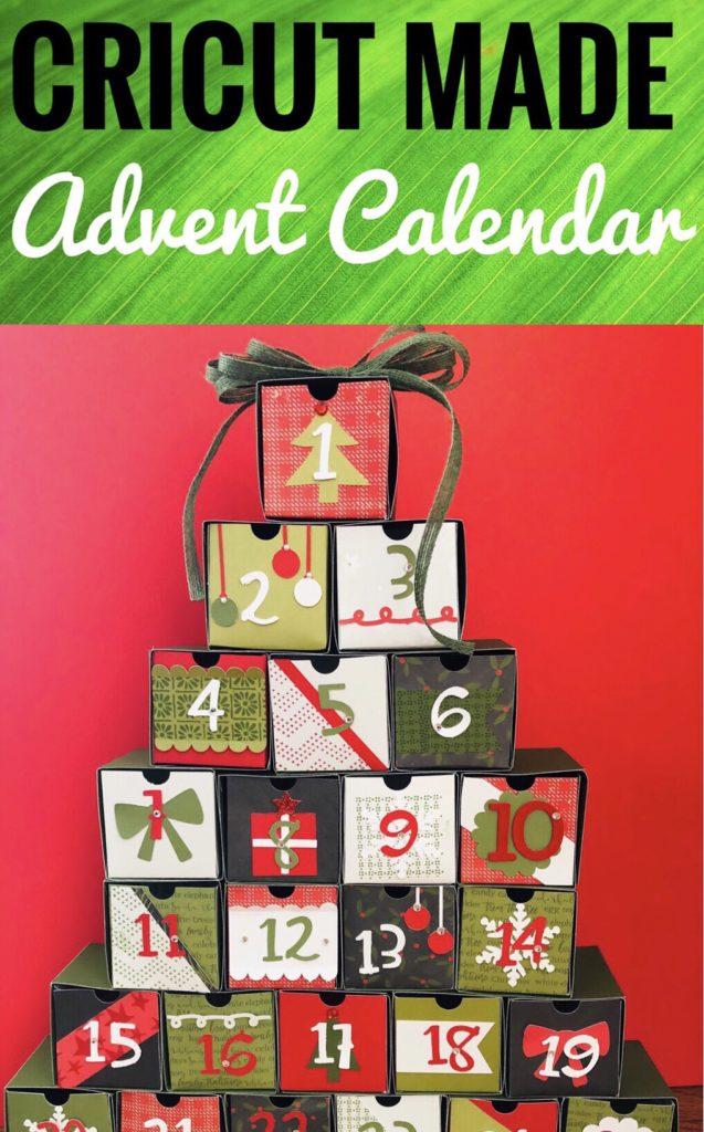 Cricut Made Advent Calendar