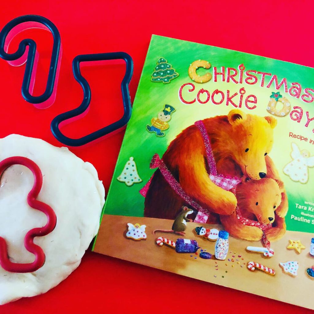 Christmas Cookie Play Dough Activity