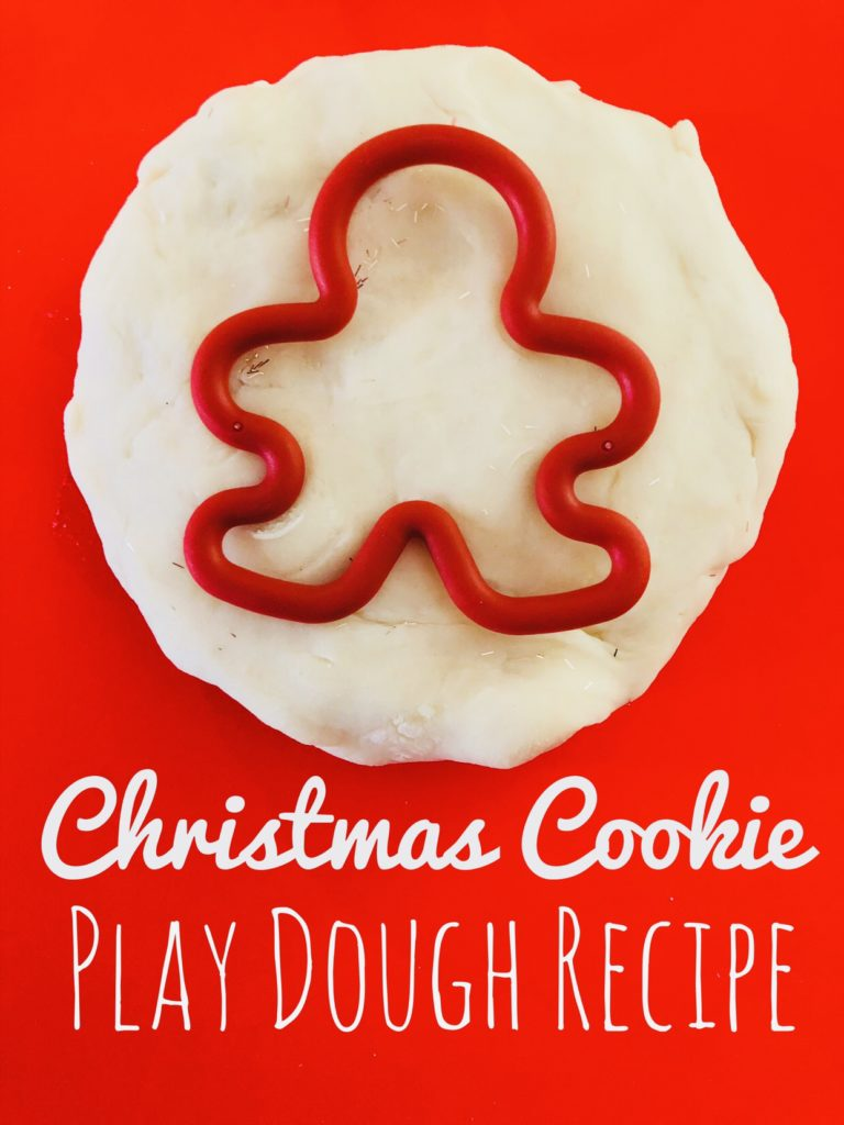 Christmas Cookie Play Dough Recipe