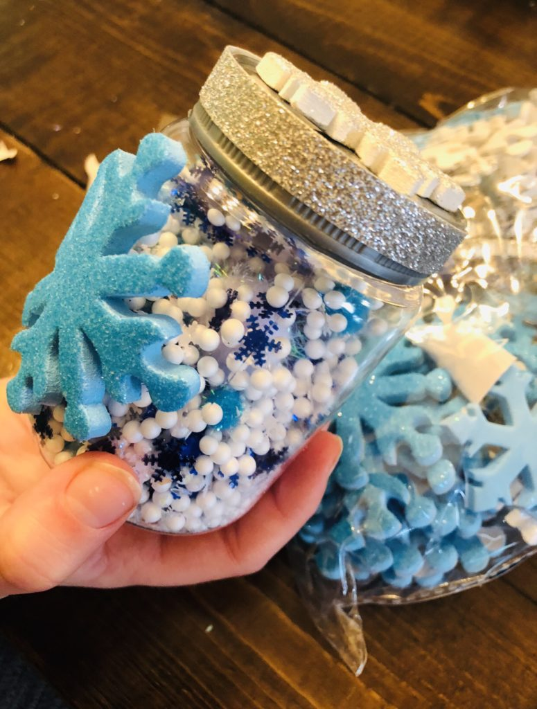 Snowflake Globe Ornament Craft