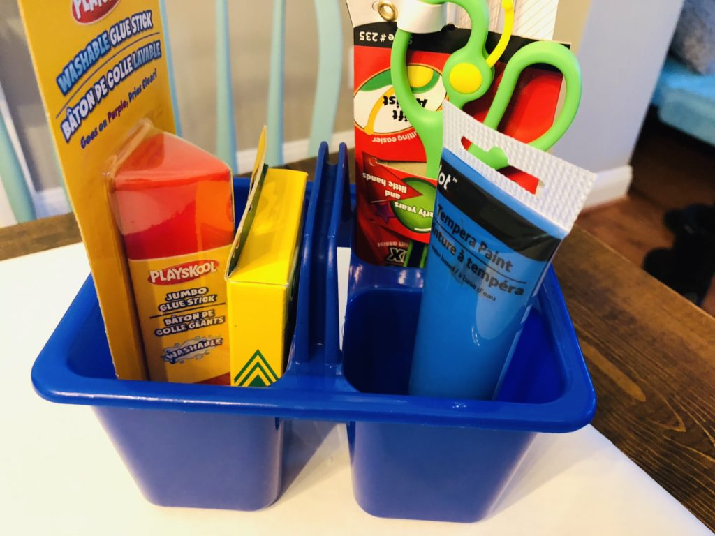 Kids Arts and Crafts Gift Basket